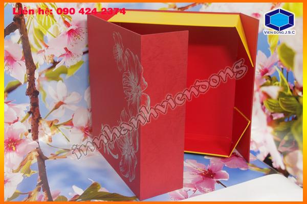 Làm hộp đựng quà tết lấy nhanh 0904242374 tại hcm